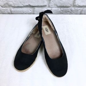 UGG Perrie Flats in Black